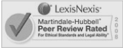 LexisNexis Martindale-Hubbell Top Ranked Law Firm